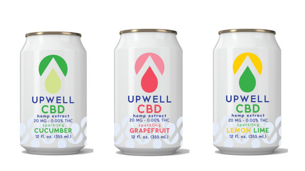 upwell beverages flavored cbd water