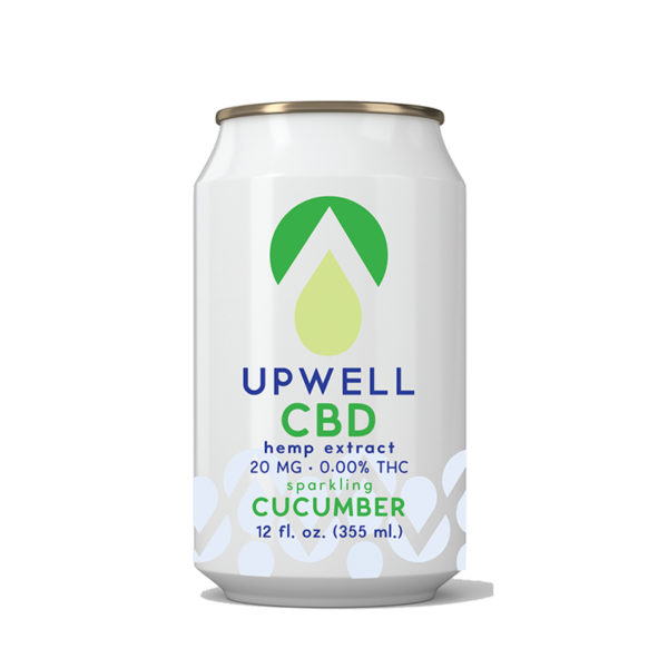 upwell beverages cucumber cbd water