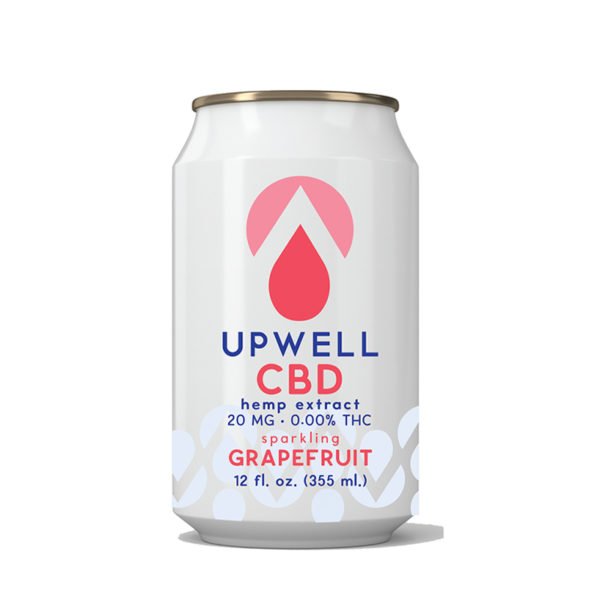 upwell beverages grapefruit cbd water